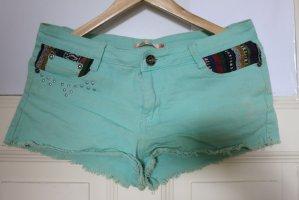 mega schöne mint farbende Shorts für den Sommer