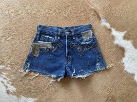 Levi's Pantaloncino di jeans multicolore