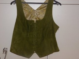 Meindl Traditional Camisole green grey leather