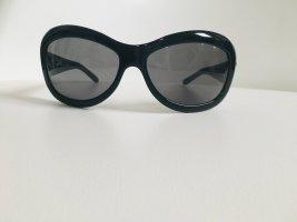 Chanel Lunettes carées noir-argenté