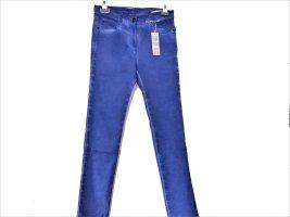 Mekstone Boyfriend Trousers cornflower blue cotton