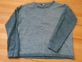 Qiero Fine Knit Jumper cadet blue-sage green