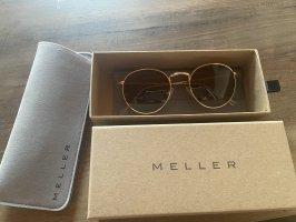 Meller Okrągłe okulary przeciwsłoneczne brązowy