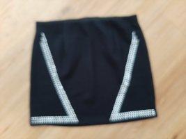 Melrose Miniskirt black polyester