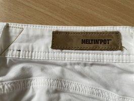 Meltin Pot Jeans skinny blanc-blanc cassé