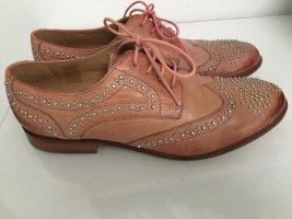 Melvin & hamilton Lace Shoes apricot leather