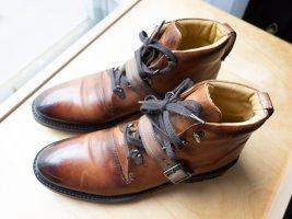 Melvin & hamilton Lace-up Boots brown-cognac-coloured leather