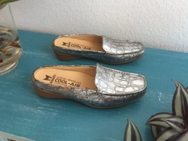 Mephisto Sabots silver-colored-grey