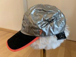 Mercedes Benz Design Baseball Cap silver-colored