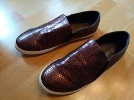 Pantofola bronzo-ruggine
