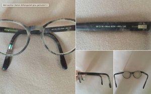 Metropolitan Damen Brillengestell grau gemustert