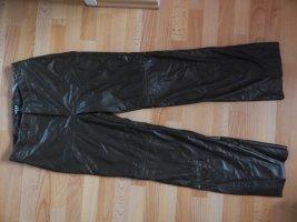 Mexx Lederhose in schwarz