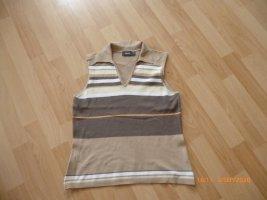 MEXX Shirt mit Kragen ohne Ärmel  gr L