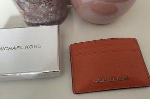 Michael Kors Etui na karty jasnoczerwony-łosowiowy