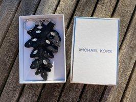 Michael Kors Llavero negro-color oro