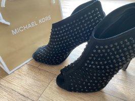 Michael Kors Bottes à bout ouvert noir