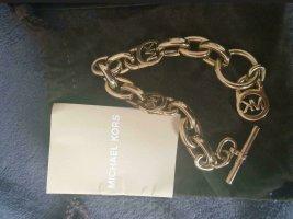 Michael Kors Bracelet en or jaune tissu mixte