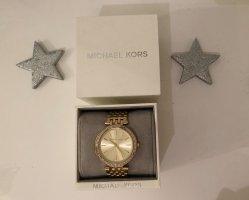 MICHAEL KORS Armbanduhr Darci im Goldton mit Pavé-Fassung