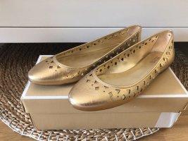 Michael Kors Ballerinas gold 40,5 neu mit Karton
