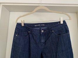 Michael Kors Skinny jeans donkerblauw Katoen