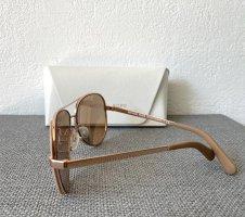 Okulary jasnobrązowy