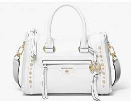 Michael Kors Carry Bag white-gold-colored leather