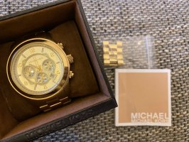 Michael Kors Chronograph Uhr in Gold