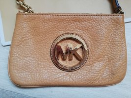 Michael Kors Clutch in hellbraun / cognac