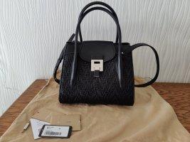 Michael Kors Collection Bancroft Woven Medium Bag Tasche Schwarz