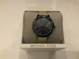 Michael Kors Montre analogue beige clair-gris anthracite