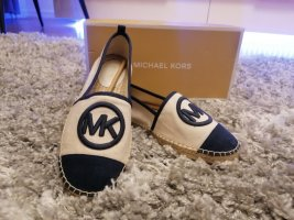Michael Kors Espadrille sandalen room-donkerblauw