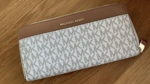 Michael Kors Wallet brown-white