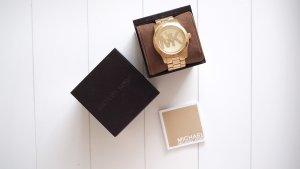 Michael Kors - Goldene Armbanduhr