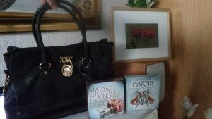 MICHAEL KORS Hamilton groß+echtes Leder Original+Bilderrahmen+Foto+2 Hörbücher Np:399.-nur die Tasche-Bild ist ein Geschenk