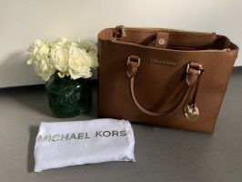 Michael Kors Sac Baril cognac