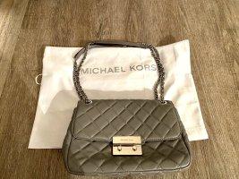 Michael Kors Handtasche gestepptes echtes Leder Kettenhenkel Bag Np 450€