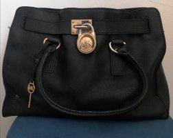 Michael Kors Handtasche schwarz gold Shopper