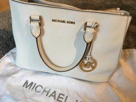 Michael Kors Handtasche Sutton weiß/gold