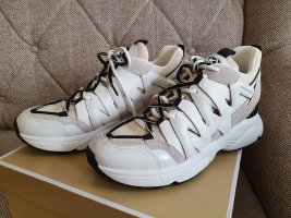 Michael Kors Hero Trainer Ecro Sneaker gr. 37 grau weiß Turnschuhe Schuhe