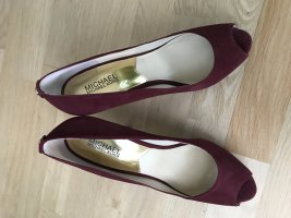 Michael Kors High Heels - Bordeaux Rot