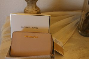 Michael Kors Jet Set Card Case -Geldbörse rosa