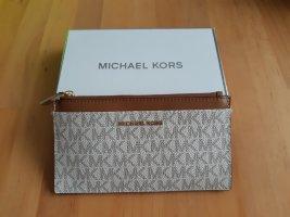 Michael Kors Portemonnee bruin-licht beige