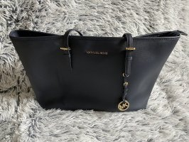 Michael Kors Jet Set Medium Navyblue