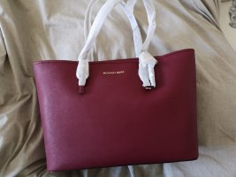 Michael Kors Sac à main bordeau-rouge mûre cuir