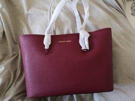 Michael Kors Handbag bordeaux-blackberry-red leather