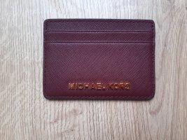 Michael Kors Porte-cartes doré-bordeau