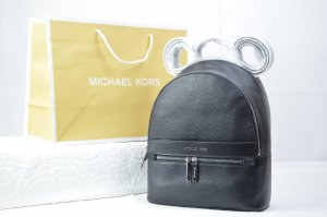 Michael Kors Kenly Medium Backpack Leather in Black