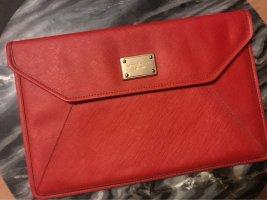 Michael Kors Laptop bag dark red leather