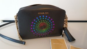 Michael Kors Mercer Modern Disco Leder Handtasche Umhängetasche