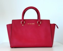 ❤ Michael Kors MK Ledertasche / Handtasche / Tasche / Selma groß rot